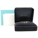 Tiffany(티파니) 18K 핑크 골드 T 네로우 와이어 S사이즈 팔찌 [강남본점]