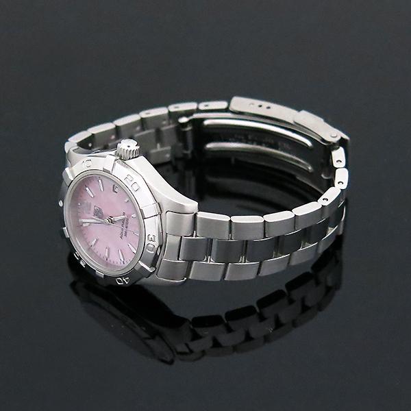 Tag Heuer(태그호이어) WAF1418 아쿠아레이서 핑크 자개판 스틸 여성용 시계 [부산센텀본점] 이미지3 - 고이비토 중고명품