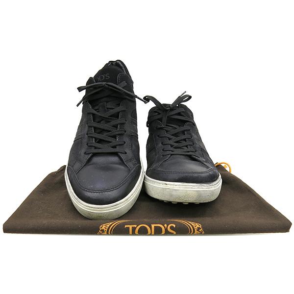 Tod's(토즈) 블랙 컬러 스웨이드 스니커즈 [강남본점]