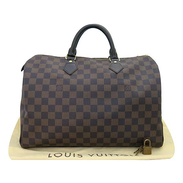 Louis Vuitton(루이비통) N41523 다미에 에벤 캔버스 스피디 35 토트백 [부산센텀본점]