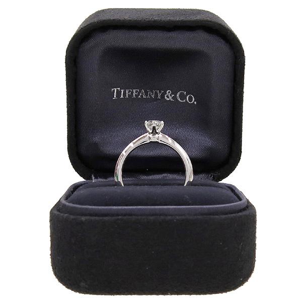 Tiffany(티파니) PT950 (플래티늄) 0.36캐럿 다이아 웨딩 반지 - 11.5호 [강남본점]