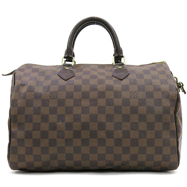 Louis Vuitton(루이비통) Louis Vuitton(루이비통) N41523 다미에 에벤 캔버스 스피디 35 토트백 [대전본점]