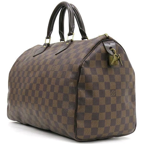 Louis Vuitton(루이비통) Louis Vuitton(루이비통) N41523 다미에 에벤 캔버스 스피디 35 토트백 [대전본점] 이미지2 - 고이비토 중고명품