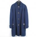 Gucci(구찌) 234528 네이비 컬러 비스코스 혼방 뱀부 버튼 여성용 코트 [강남본점]