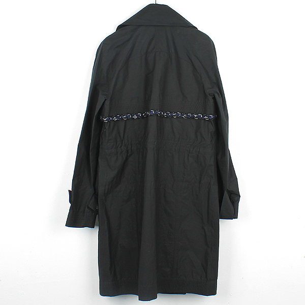 Chanel(샤넬) P48056V35925 블랙 컬러 폴리에스터 혼방 여성용 레인 코트 [강남본점] 이미지3 - 고이비토 중고명품
