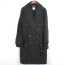 Chanel(샤넬) P48056V35925 블랙 컬러 폴리에스터 혼방 여성용 레인 코트 [강남본점]