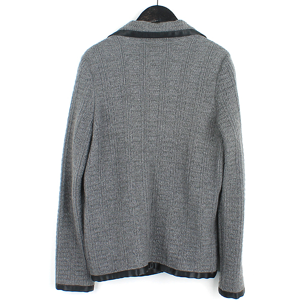 Chanel(샤넬) M5319 그레이 컬러 캐시미어 혼방 여성용 니트 자켓 [강남본점] 이미지3 - 고이비토 중고명품