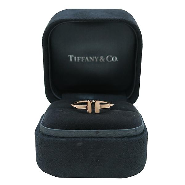 Tiffany(티파니) 18K 옐로우 골드 T 컬렉션 와이어 반지-12.5호 [인천점]