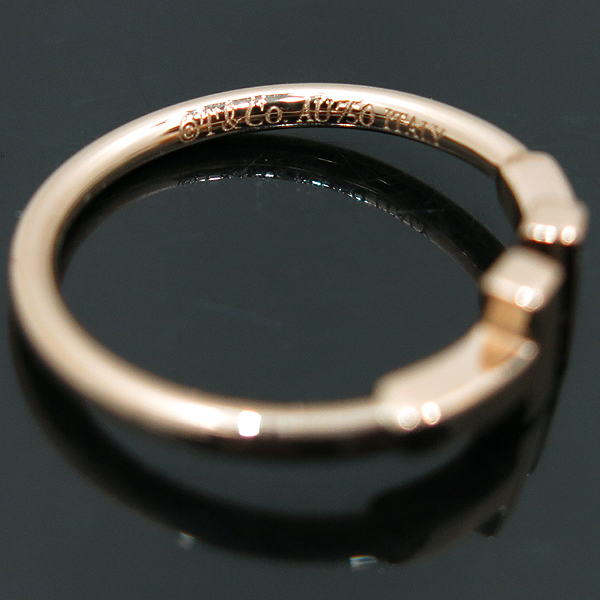 Tiffany(티파니) 18K 옐로우 골드 T 컬렉션 와이어 반지-12.5호 [인천점] 이미지3 - 고이비토 중고명품