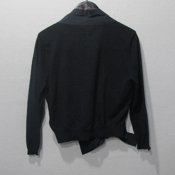 DKNY(도나카란) 블랙컬러 니트 코사지 디테일 숏 여성용 가디건 [대구반월당본점] 이미지3 - 고이비토 중고명품