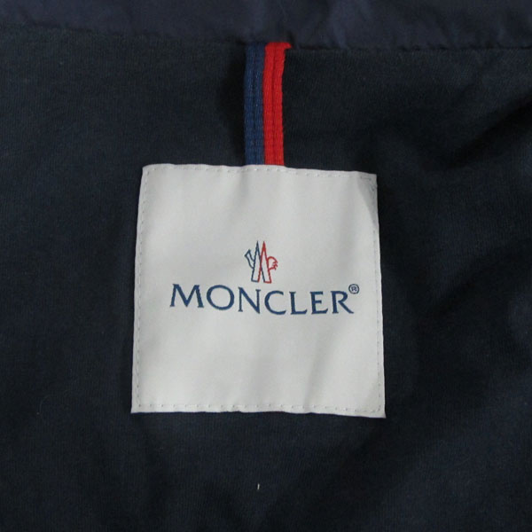 MONCLER(몽클레어) 네이비 컬러 아동용 바람막이 점퍼 [대구반월당본점] 이미지4 - 고이비토 중고명품