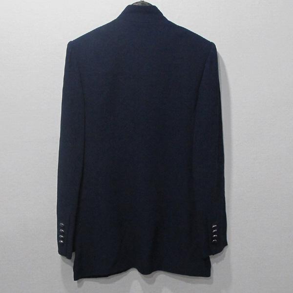 Hermes(에르메스) 비스코스 100% 네이비 컬러 원버튼 여성용 자켓 [대구반월당본점] 이미지3 - 고이비토 중고명품