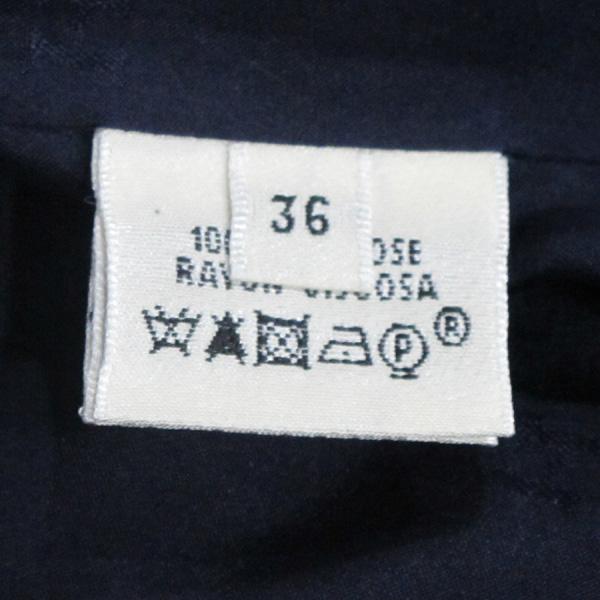 Hermes(에르메스) 비스코스 100% 네이비 컬러 원버튼 여성용 자켓 [대구반월당본점] 이미지5 - 고이비토 중고명품