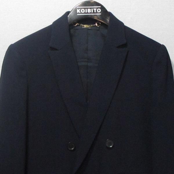 Gucci(구찌) 네이비 컬러 여성용 더블 블레이져 자켓 [대구반월당본점] 이미지2 - 고이비토 중고명품