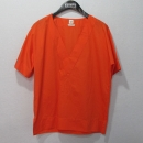 Hermes(에르메스) 면 100% 오렌지 컬러 로고 스티치 여성용 반팔 티 (밴딩 바지 SET) [대구반월당본점]