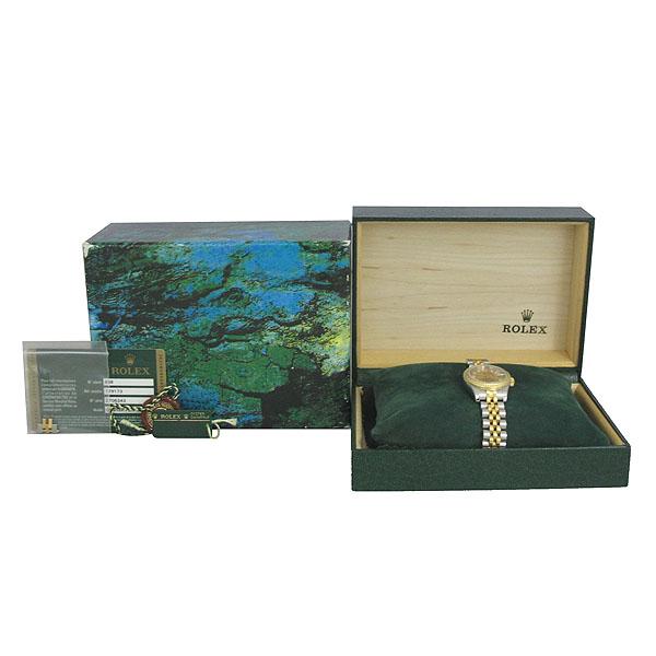 Rolex(로렉스) 179173 18K 옐로우골드 콤비 10포인트 다이아 DATEJUST(데이저스트) 데이트 여성용 시계 [동대문점]