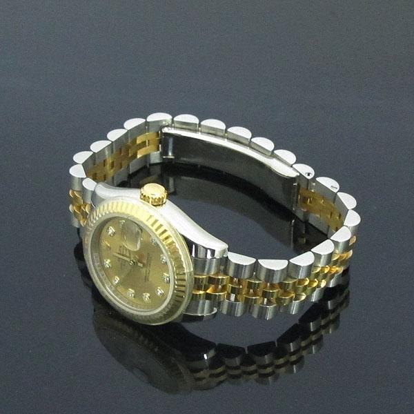Rolex(로렉스) 179173 18K 옐로우골드 콤비 10포인트 다이아 DATEJUST(데이저스트) 데이트 여성용 시계 [동대문점] 이미지3 - 고이비토 중고명품