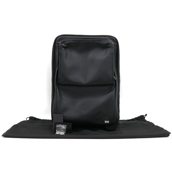 Dunhill(던힐) QB5595A 블랙 컬러 레더 롤링 러기지 여행용 캐리어 가방 [강남본점]