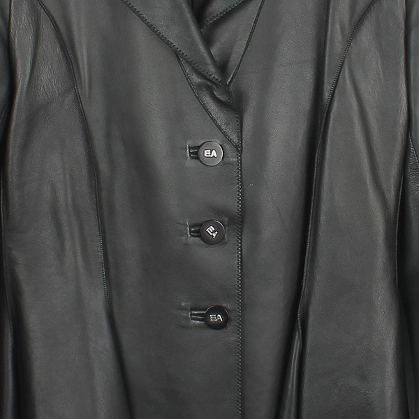 Armani(아르마니) 카키 컬러 카프  여성용 가죽 자켓 [강남본점] 이미지2 - 고이비토 중고명품