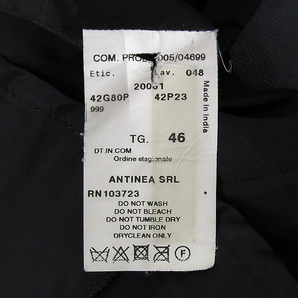 Armani(아르마니) 카키 컬러 카프  여성용 가죽 자켓 [강남본점] 이미지4 - 고이비토 중고명품