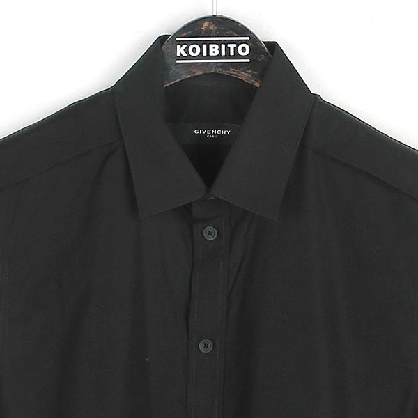 GIVENCHY(지방시) 블랙컬러 커튼 롱 베스트 숄더 놋 셔츠 [강남본점] 이미지2 - 고이비토 중고명품