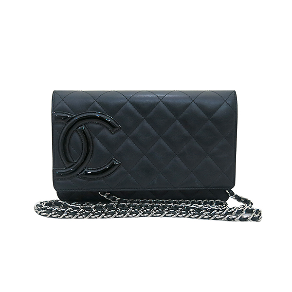 Chanel(샤넬) A466646 블랙 COCO 로고 깜봉 WOC (월릿 온 더 체인) 체인 클러치 겸 크로스백 [부산센텀본점] 이미지2 - 고이비토 중고명품