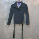 Burberry(버버리) 블루라벨 면 100% 흑청 컬러 하프 여성용 자켓 + 벨트 SET [대구동성로점]