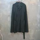 ANN DEMEULEMEESTER (앤 드뮬미스터) 울 혼방 블랙 컬러 여성용 코트 [대구동성로점]