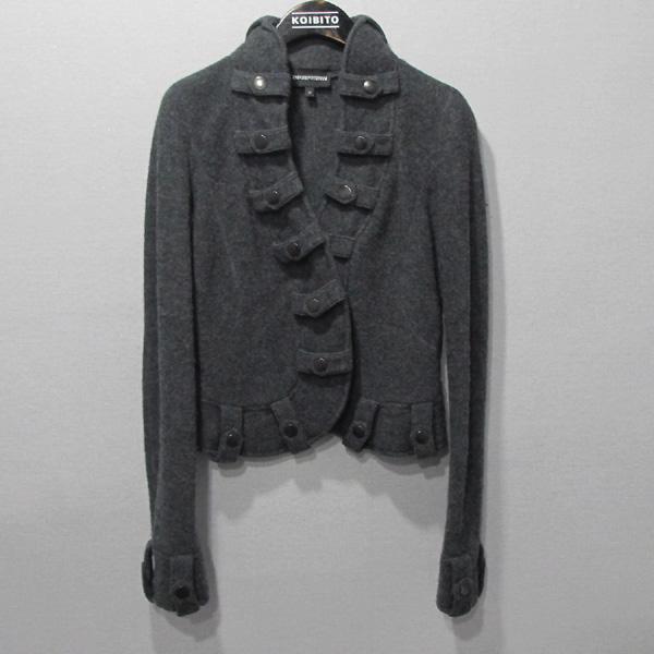 Armani(아르마니) 그레이 컬러 모 100% 여성용 자켓 [대구반월당본점]