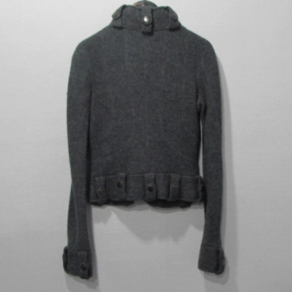 Armani(아르마니) 그레이 컬러 모 100% 여성용 자켓 [대구반월당본점] 이미지3 - 고이비토 중고명품