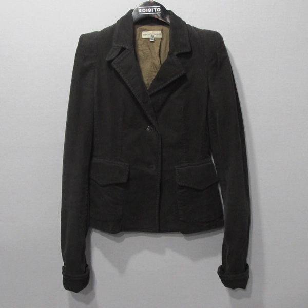 Armani(아르마니) 브라운 컬러 여성용 골덴 자켓 [대구반월당본점]