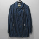 Burberry(버버리) 브릿 라인 블루 컬러 폴리에스터 혼방 여성용 코트 [강남본점]