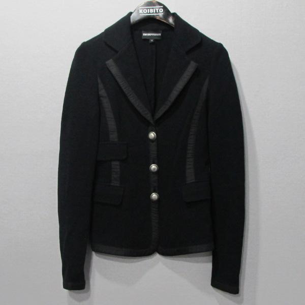 Armani(아르마니) 블랙 컬러 여성용 니트 자켓 [강남본점]