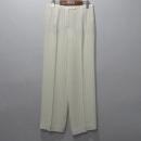 Hermes(에르메스) 실크 혼방 화이트 컬러 스프라이트 패턴 여성용 바지 [대구반월당본점]