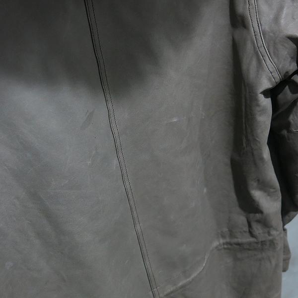 SISII(시씨) 카키 레더 롱 봄버 라쿤퍼 혼방 자켓 [인천점] 이미지3 - 고이비토 중고명품