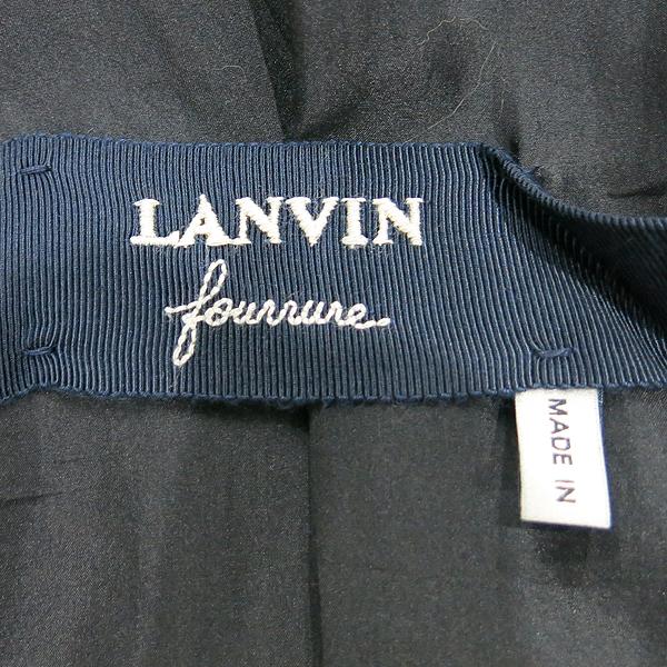 LANVIN(랑방) 그레이 그라데이션 옐로우 컬러 FOX 퍼 코트 [인천점] 이미지3 - 고이비토 중고명품