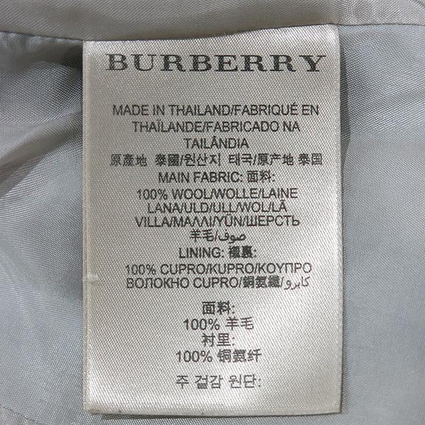 Burberry(버버리) 3777272 BRIT(브릿) 라인 100% 울 체크 코트 +벨트 SET [인천점] 이미지5 - 고이비토 중고명품