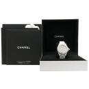 Chanel(샤넬) H1628 J12 화이트 세라믹 12포인트 다이아 33MM 여성용 시계 [강남본점]
