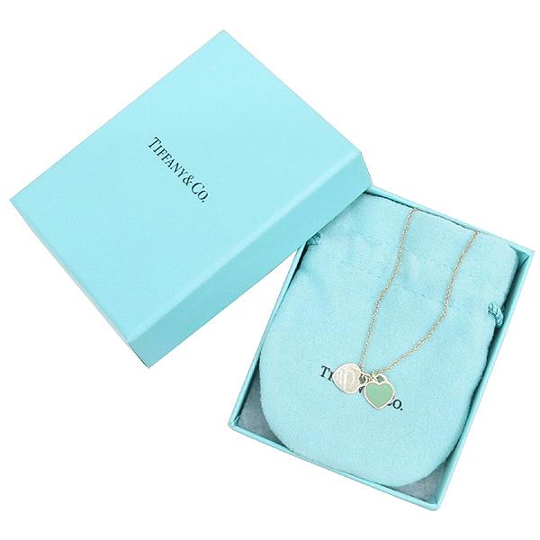 Tiffany(티파니) 925(실버) 리턴투 티파니 더블 하트 목걸이 [강남본점]