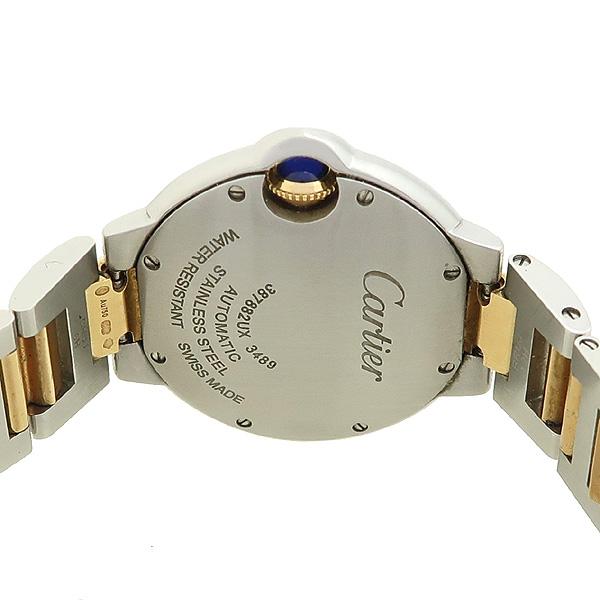 Cartier(까르띠에) W6920098 발롱블루 33MM 18K 핑크골드 핑크 자개판 콤비 오토매틱 시계 [강남본점] 이미지4 - 고이비토 중고명품