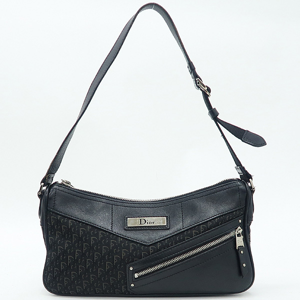 Dior(크리스챤디올) 블랙 컬러 로고 자가드 숄더백 [강남본점]
