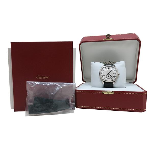 Cartier(까르띠에) WSNM0004 드라이브 드 까르띠에 41MM 데이트 오토매틱 가죽밴드 남성용 시계 [인천점]