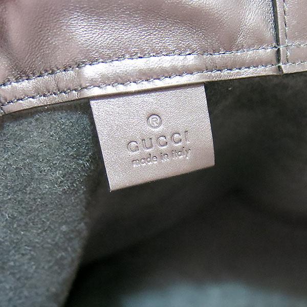 Gucci(구찌) 494053 구찌 로고 가죽 드로우스트링 백팩 [대구동성로점] 이미지5 - 고이비토 중고명품