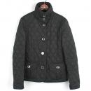 Burberry(버버리) 3696257 브릿 라인 블랙 컬러 카라 장식 퀼팅 여성용 자켓 [강남본점]