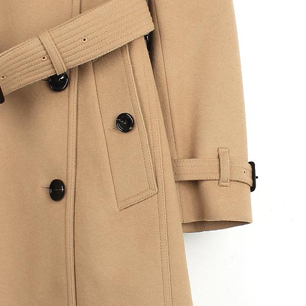 Burberry(버버리) 3929740 울 캐시미어 혼방 베이지 컬러 여성용 트렌치 코트 + 벨트 SET [강남본점] 이미지2 - 고이비토 중고명품