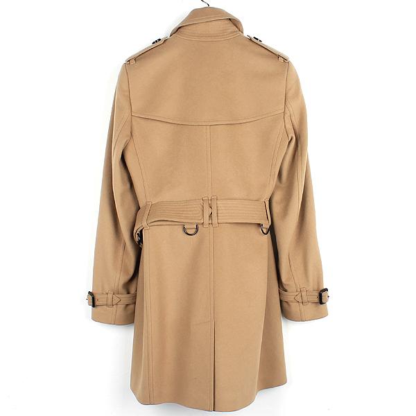 Burberry(버버리) 3929740 울 캐시미어 혼방 베이지 컬러 여성용 트렌치 코트 + 벨트 SET [강남본점] 이미지3 - 고이비토 중고명품