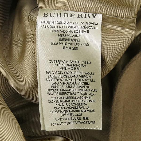 Burberry(버버리) 3929740 울 캐시미어 혼방 베이지 컬러 여성용 트렌치 코트 + 벨트 SET [강남본점] 이미지5 - 고이비토 중고명품