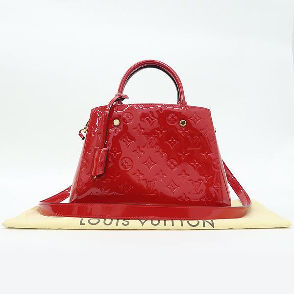 Louis Vuitton(루이비통) M50403 모노그램 베르니 몽테뉴 BB 토트백 + 숄더스트랩 2WAY [강남본점]