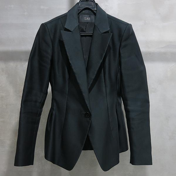Time(타임) 폴리에스터 100% 블랙 컬러 여성용 자켓 [인천점]