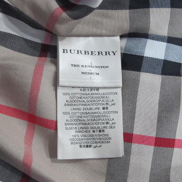 Burberry(버버리) 3900459 블랙 컬러 켄싱턴 미드 헤리티지 여성용 트렌치코트 + 벨트SET [대구반월당본점] 이미지5 - 고이비토 중고명품